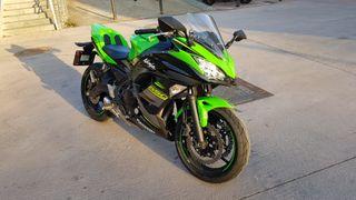 Kawasaki Ninja 650 2018 (más extras), Carnet A2