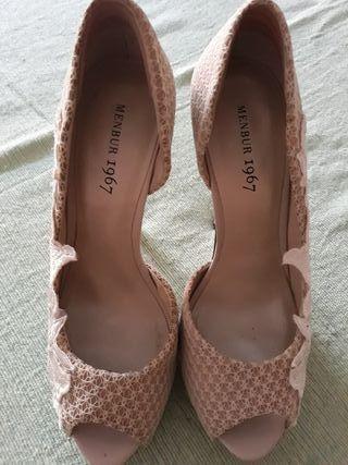 zapato menbur mujer