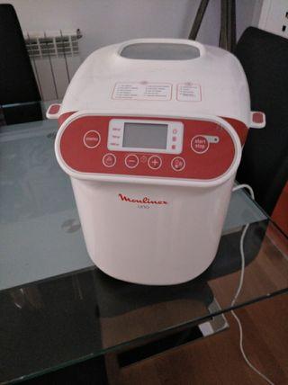 maquina para hacer pan moulinex