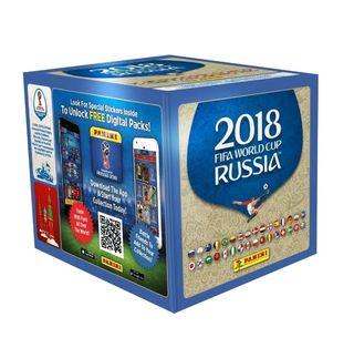 caja + album mundial de rusia 2018. panini