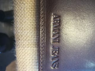 Cartera billetera Armani Jeans