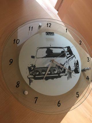 Reloj transparente mini