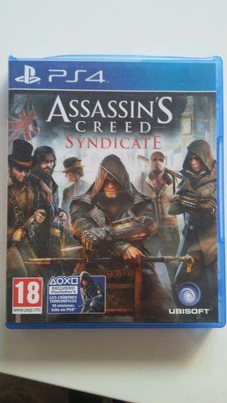 juego ps4 assasins creed syndicate