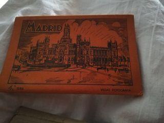 Tarjetas postales Madrid antiguas vintage