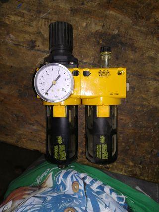 Filtro aire regulador lubricador waircom