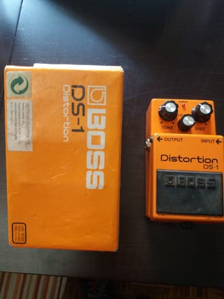 Pedal guitarra boss ds1