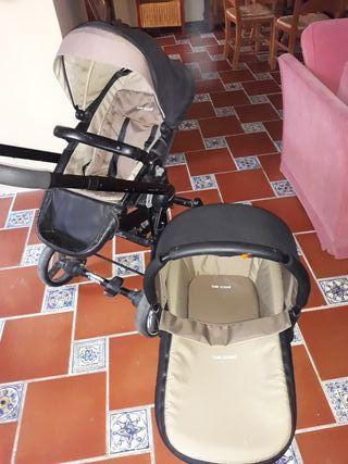 Carro bebé bee cool 2 piezas