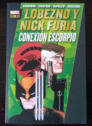 Conexion Escorpio - Lobezno y Nick Furia