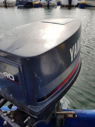 motor fueraborda yamaha 40cv 2t