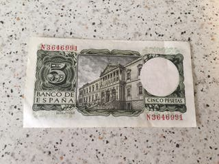 Billete 5 pesetas