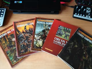 Libros de warhammer