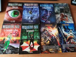 Novelas resident evil+warhammer
