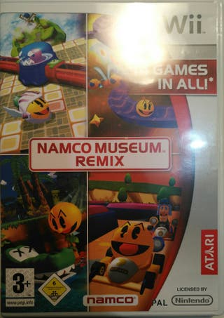 Juego WII - Namco Museum Remix