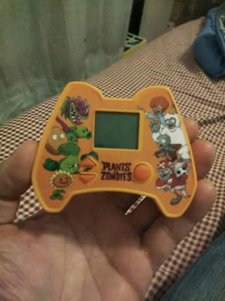 maquinita videojuego PLANTS vs ZOMBIES Burger King