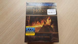 El Hobbit Edición extendida Bluray