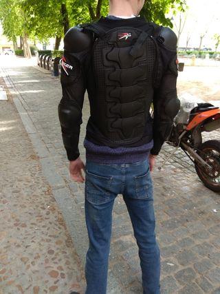armadura motocross coraza