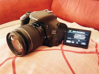 Cambio Canon 600D por Evil