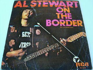 "AL STEWART-.ON THE BORDER- SINGLE VINILO 7""."