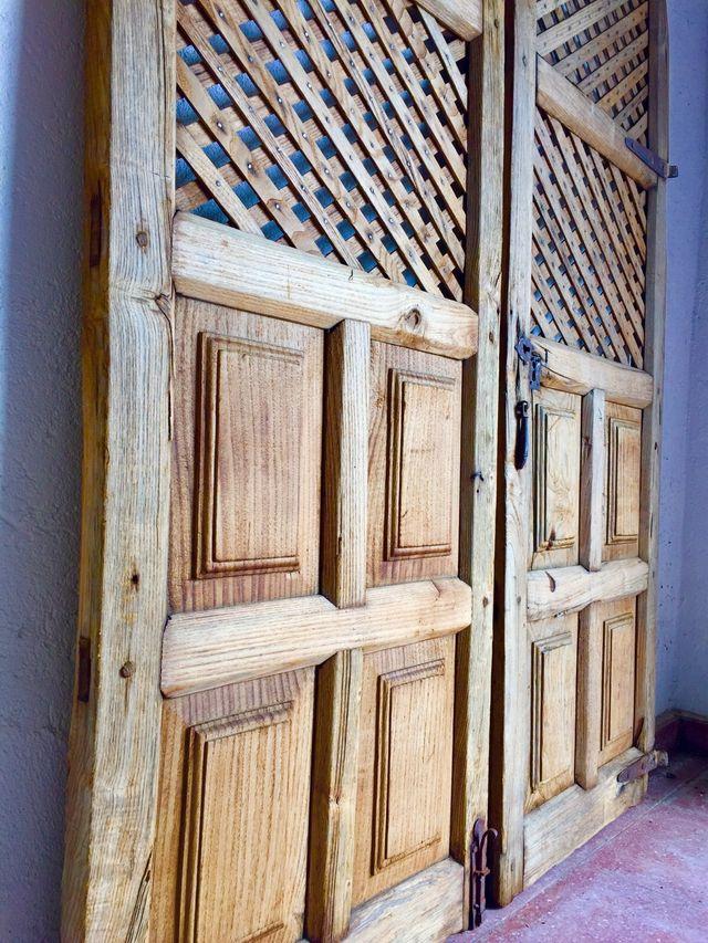 Puertas de madera antiguas