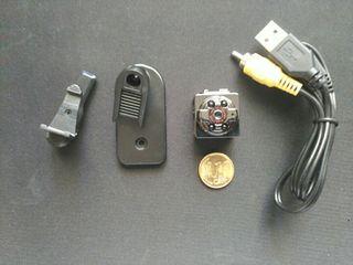 mini camara HD visión nocturna y movimiento