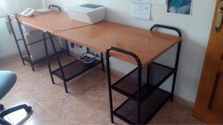 Mesa escritorio doble