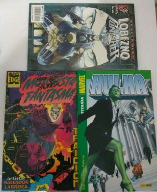 Lobezno vs Punisher, Ghost Rider, Hulka MARVEL