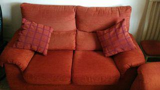 conjunto de sofas unode tres y dos plazas