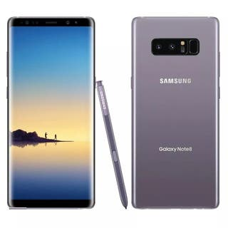 Samsung Note 8 + funda clear view