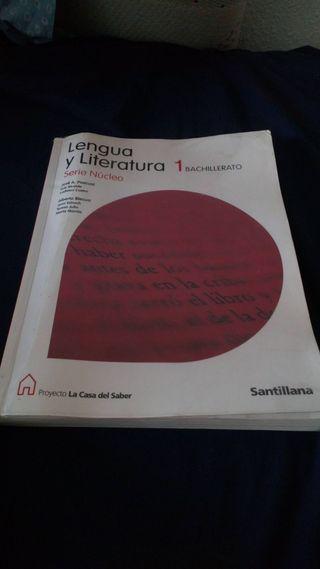 Libro de lengua para primero de bachillerato.