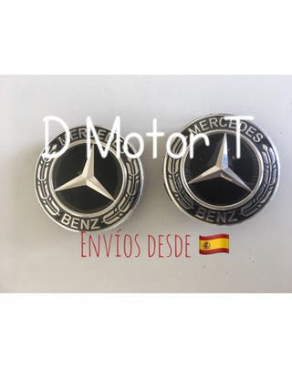 OFERTA SET 4 TAPABUJES MERCEDES BENZ NEGRO LAUREL