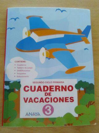 cuaderno de verano