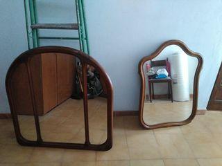 espejos madera