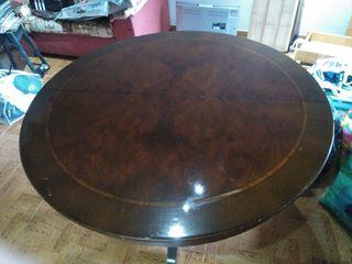 mesa madera maciza.