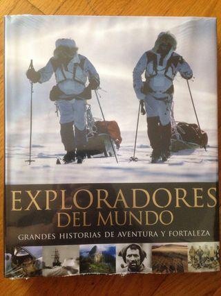 Libro Exploradores del mundo