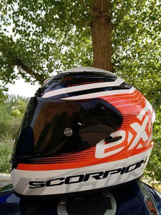 casco de moto scorpion exo 2000