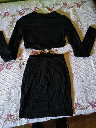 vestido bershka talla s nuevo