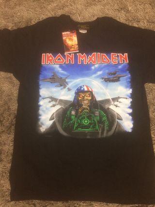 Iron maiden camiseta Talla L aces high Texas 2010