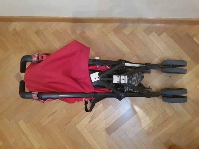 Silla de paseo Concord Quix Rojo + Bolsa TucTuc