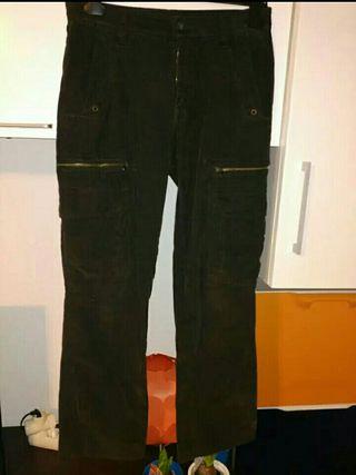 pantalón pana t.40 ancho