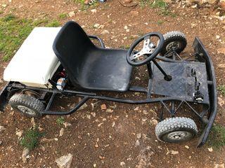 Kart casero eléctrico
