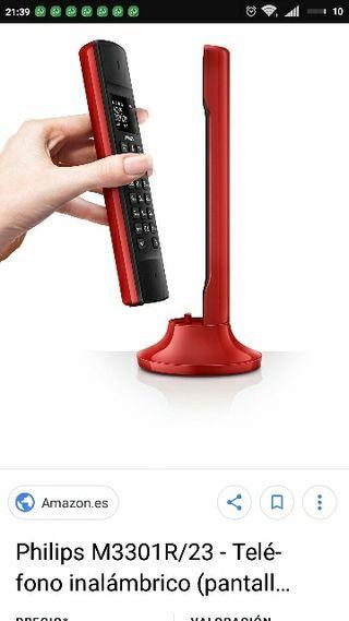 teléfono fijo inalámbrico Philips