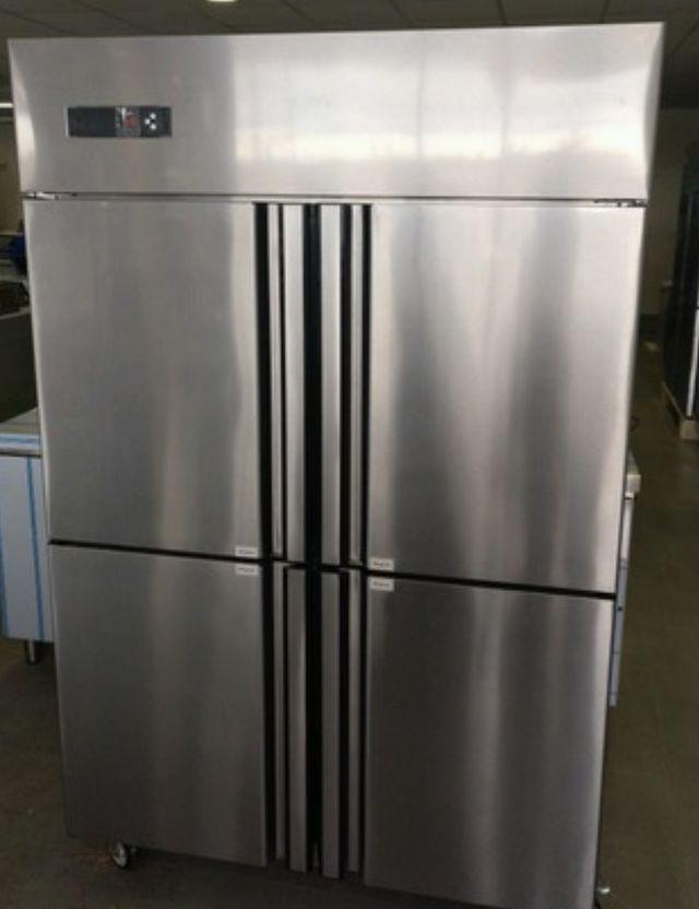 Armario refrigerado inoxidable puerta