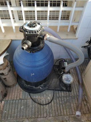 Bomba depuradora piscina 400W