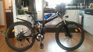 bicicleta mtb marca Ancheer plegable y eléctrica