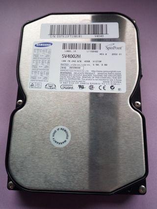 DISCO DURO SAMSUNG SPINPOINT SV4002H 40GB IDE HDD