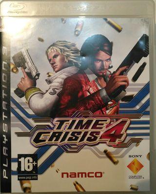 Juego PS3 - Time Crisis 4 + GunCon 3