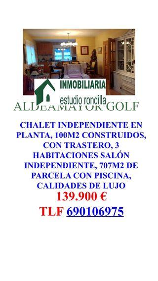 Chalet piscina Aldeamayor Golf