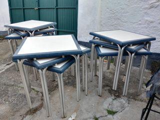 Mesas y sillas aluminio