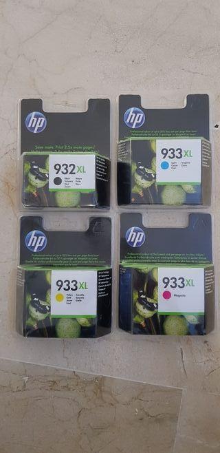 Pack cartuchos tinta HP NUEVOS