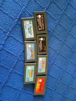 Juegos GameBoy Advanced